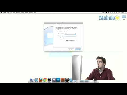 iChat - Setup - How to use Mac OS Snow Leopard