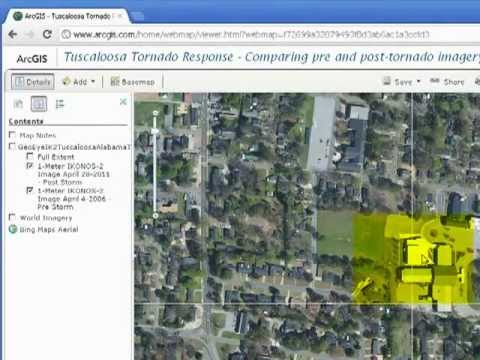 Examining the Tuscaloosa April 2011 Tornado in ArcGIS Online, Part 5