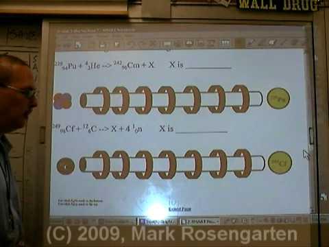 Chemistry Tutorial 3.04a Artificial Transmutation