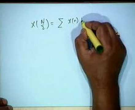 Lecture - 21 Problem Solving Session: FT, DFT,& Z Transforms