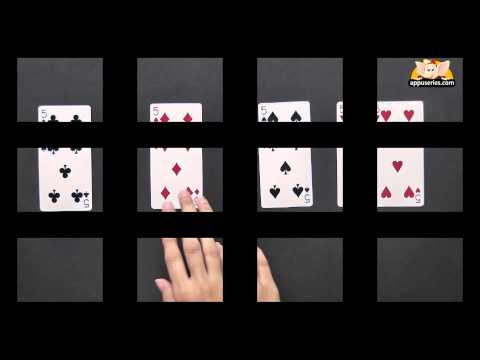 A Challenging 4 Card Puzzle
