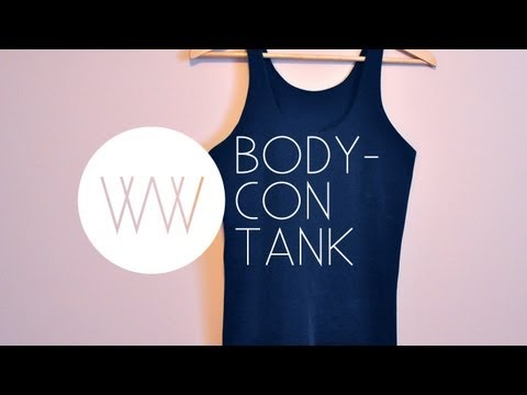 How to Make a Bodycon Tank
