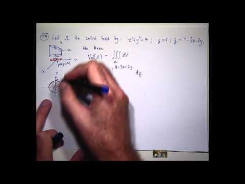 Triple integral tutorial