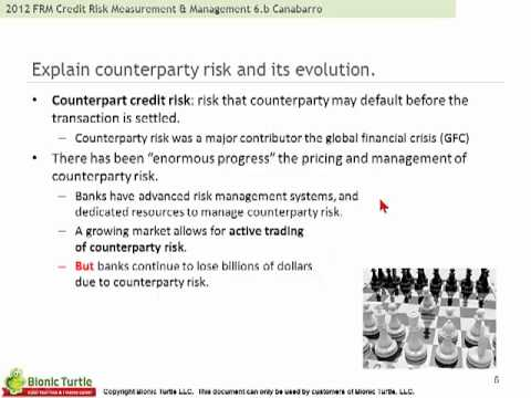2012 FRM Credit Risk Measurement & Management T6.b