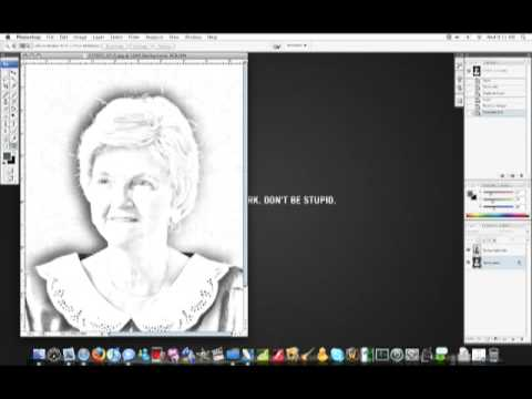 IceflowStudios Design Training - QuickTip: Turn your Photograph into a Sketch