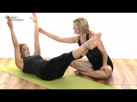 Essential Pilates for Beginners - Double Leg Stretch