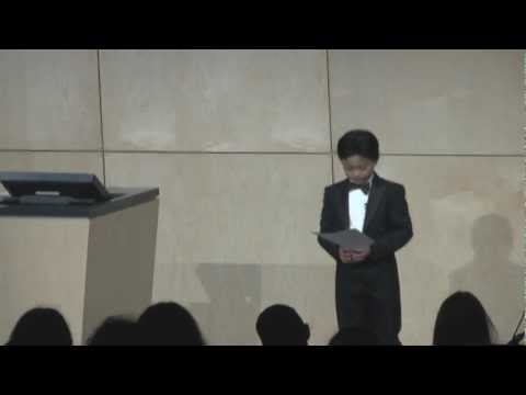 TEDxRedmond - Ray Ushikubo - Pint-sized Pianist