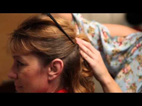 How to Style an Updo Over 50