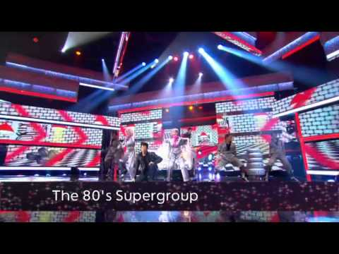 Let's Dance for Comic Relief Final: The 80's Supergroup