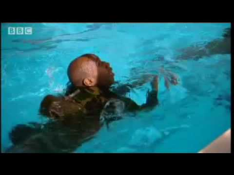 Endurance swimming - SAS - Are You Tough Enough? - BBC action