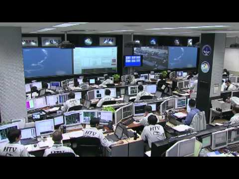Japanese Cargo Ship Heads for the International Space Station