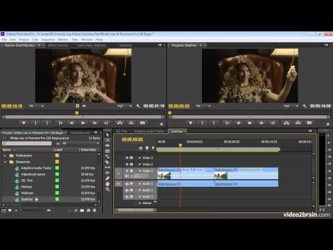 What's New in Premiere Pro CS6