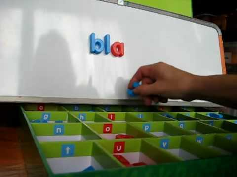 Preschool - Reading. Movable alphabet 1