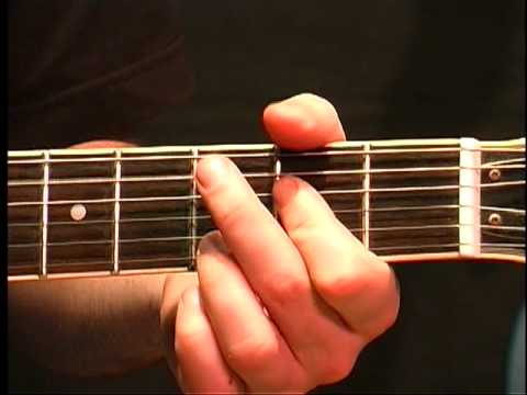 Beginning Guitar Lesson - G Major Chord In Open Position