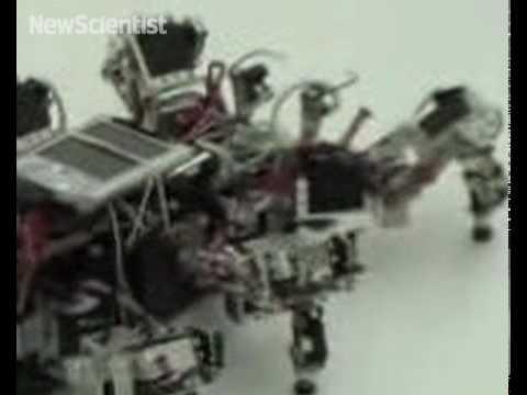 Adapting robot