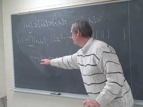 Calculus: The Nested Interval Theorem