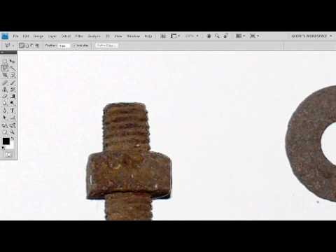 Adobe Photoshop CS4 Essentials - Select Images Using Lasso Tools