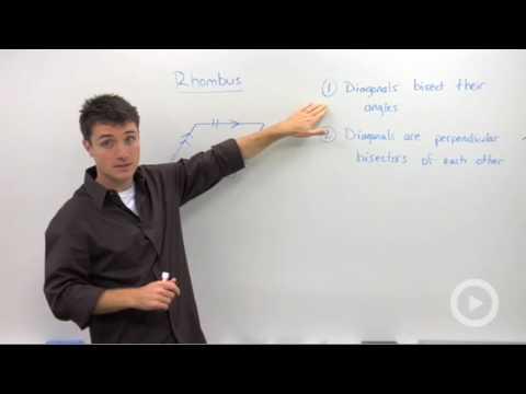 Geometry - Rhombus Properties