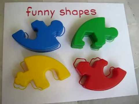 Toddler - Social Studies. Shape puzzles