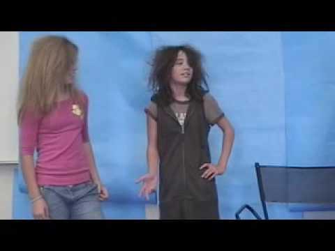 Ensign drama class mock comercial Beaver Guts Hairspray
