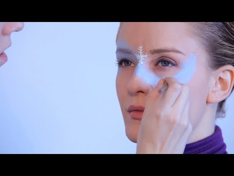 How to Do Face Painting: Winter Princess