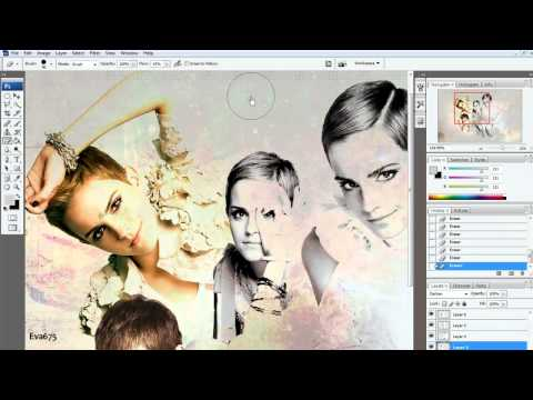 Photoshop Tutorial || Background Type 2 [New]