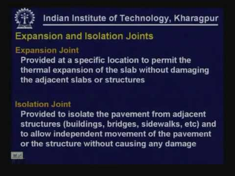 Lecture - 35 Analysis of Concrete Pavements