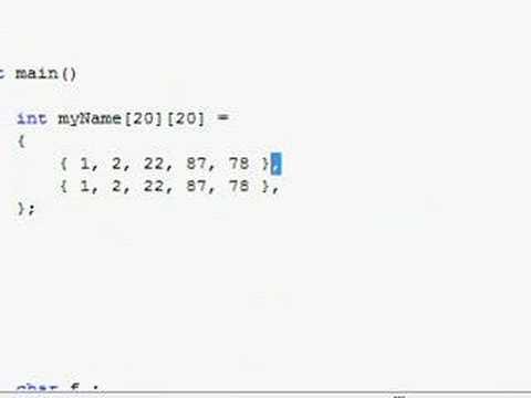 C++ Tutorial (35) - Absolute n00b spoonfeed
