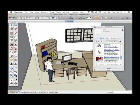 The SketchUp Show #55: Using the Move Tool (SketchUp for Everyone DVD Sample)