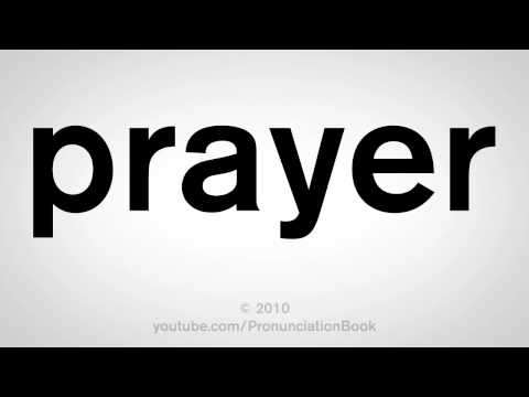 How to Say Prayer