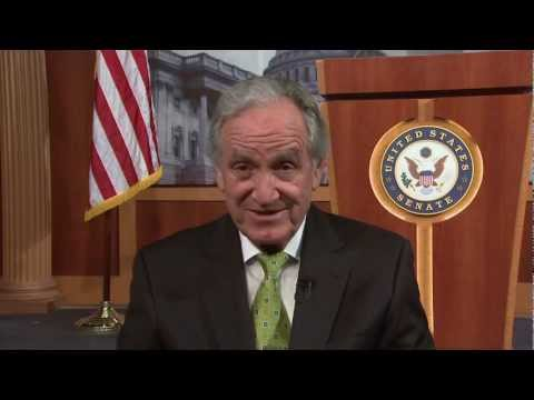 U.S. Sen. Tom Harkin recalls Bill Clinton's 1998 speech nominating Michael Dukakis