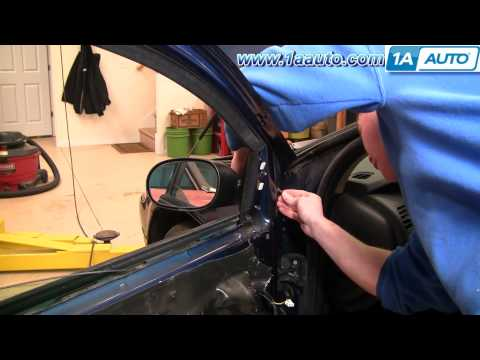 How To Install Repair Replace Side Rear View Mirror Dodge Intrepid 98-04 1AAuto.com