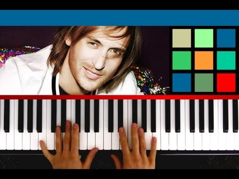 "How To Play ""Titanium"" Piano Tutorial / Sheet Music (David Guetta ft. Sia)"