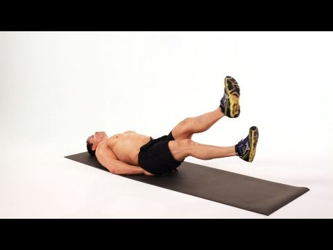 How to Do Scissors | Home Ab Workout for Men