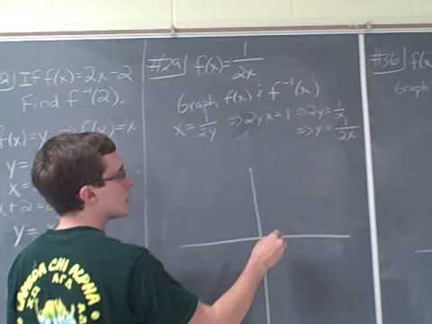 Ma 112 Precalculus Section 2.5 Homework problems 1 of 3
