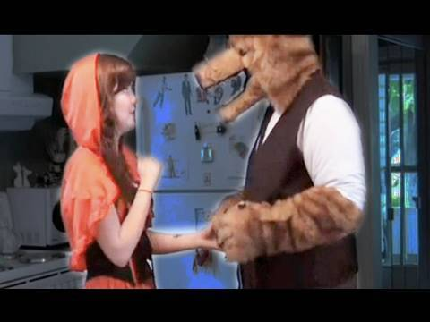 To Catch a Predator - Wolf Picks up Red Riding Hood on Film Fights TV