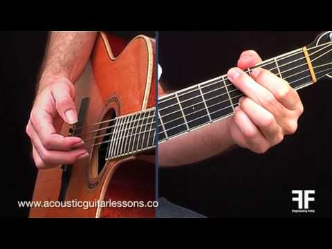 Easy Acoustic Guitar Lessons - Fingerpicking Friday Episode 02