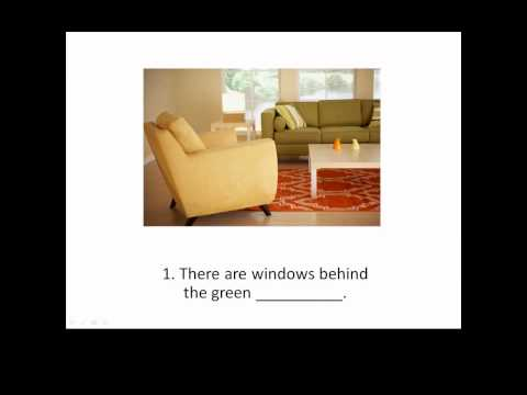 Lesson 55 - The Living Room - Learn English with Jennifer