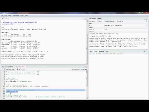 R12. Robust/White Standard Errors. (Econometrics in R)