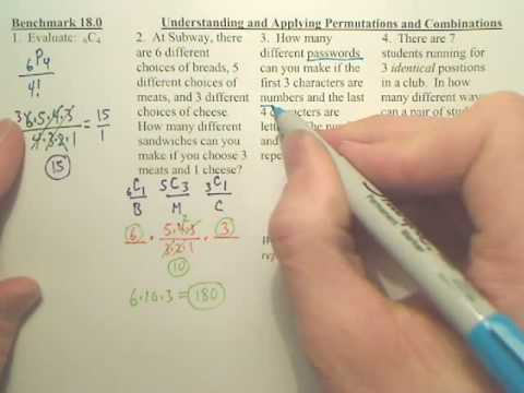 Benchmark 18 p1 - Algebra 2