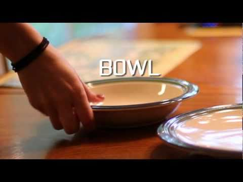 Learn English Words: Bowl