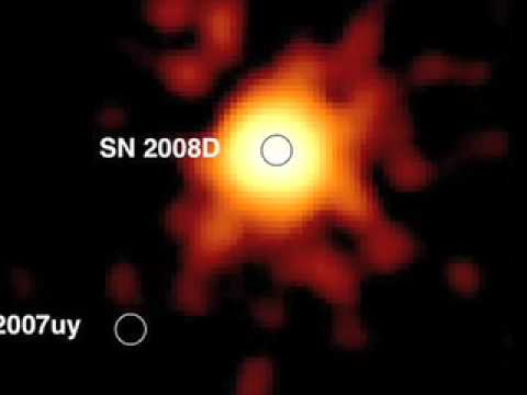 Supernova birth seen for first time