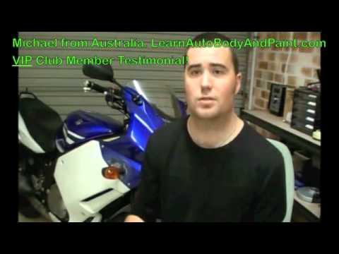 What Michael Thinks About LearnAutoBodyAndPaint.com VIP Club - Member Testimonial