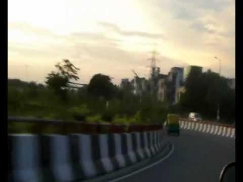 MOMENTS OF INDIA 47 (Beautiful Delhi Sunset)