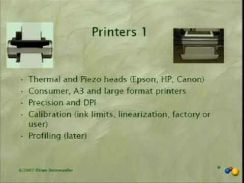 Photographic Technology EDU Day 19: Inkjet printing...