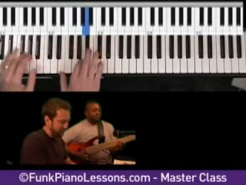 How To Play Funk Piano - Learn Funk Piano Grooves (master class)