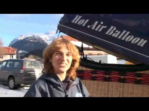 Hot air balloon - maiden flight