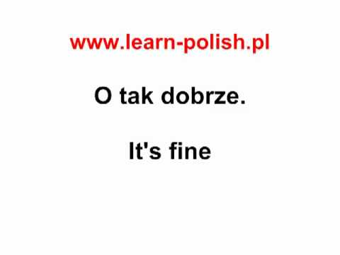 6  Polish Dialogues : At the hairdresser's - Polish Online