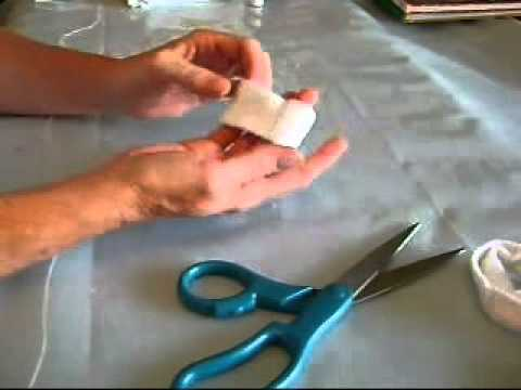 How to Make a Sock Bracelet