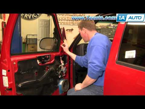 How To Install Replace Side Rear View Mirror GMC Sonoma 99-04 1AAuto.com
